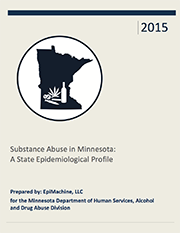 Cover of the 2015 Minnesota State Epidemiological Profile PDF