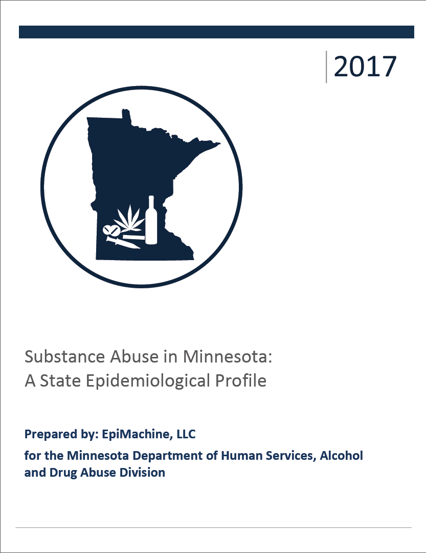 Cover of the 2017 Minnesota State Epidemiological Profile PDF